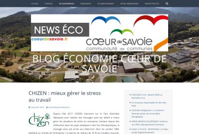 Newsletter ChiZen Bien-Être Savoie
